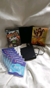 $40CD/ DVD Readable/Writable/Rewritable with Accessories package
