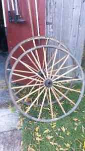 Antique Carriage wheels