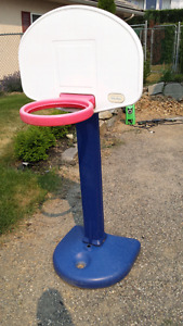Free Little Tikes Basketball Hoop