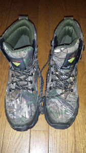 Camo (Size 9) & Grizzly by Kodiak (Size 8) Winter Boots