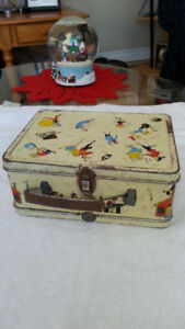 OHIO ARTS TIN LUNCH BOX - CIRCA 1960