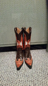 Lane Leather Cowboy Boots