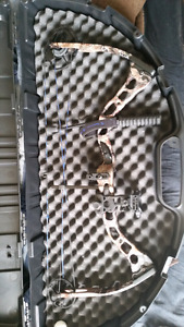 Left handed Quest G5 Rouge compound Bow