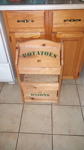 Potatoes/onions Vegetable Bin