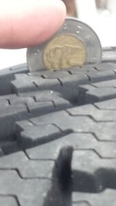One Goodyear Nordic Winter Tire 235 60 R18