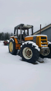Renault 4wd 133 14 tx tractor