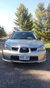 2006 Subaru Impreza Wagon Manual