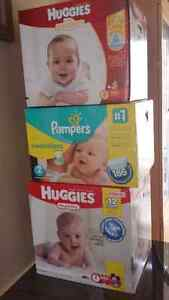 Size 2 Diapers For Sale - Pampers & Huggies