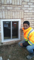 Basement window,separate entrance,concrete brick cut,6472280980