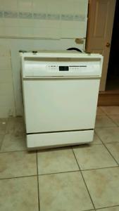 Dishwasher,  sliding doors and cabinet