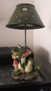Frog Tea Light lamp
