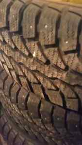 275/65R 18 studded winter tires! Trade?
