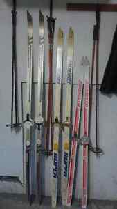 Cross Country skis and poles West Island Greater Montréal image 1