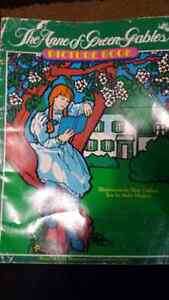 Anne of Green Gables Coloring Book.