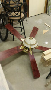 Brass Ceiling Fan