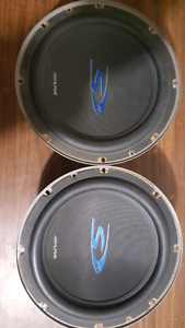Alpine subwoofers