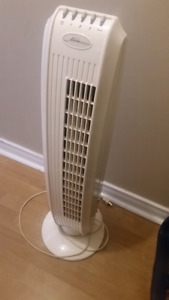 "White Floor Fan 30""High"