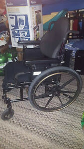 "29""W x 38""H x 34""Deep WheelChair Removable Arms Matrx PB Heavy D"