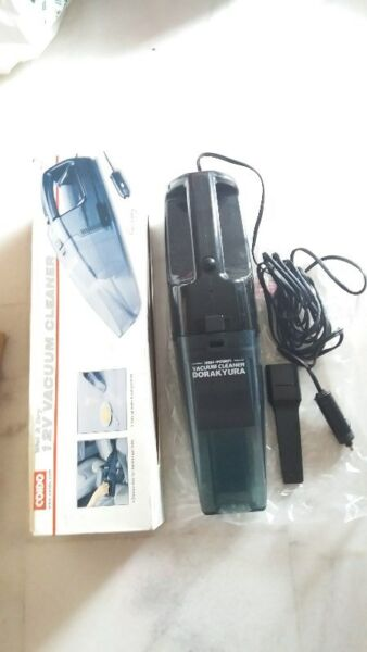 COIDO CAR COMPACT WET & DRY Vacuum Cleaner with Accessories - Hardly Used & Good Condition
