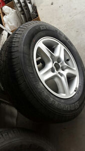 "New Lexus Aluminium and Steel Rim 16"" Tire"