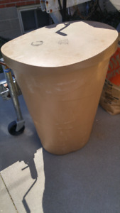 Hydroponic barrel and water pumps