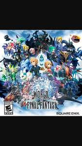 LOOKING FOR WORLD OF FINAL FANTASY $40 OBO.