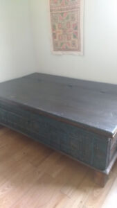 Gorgeous Indian dowry chest - excellent shape
