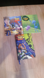 Various Pixar books