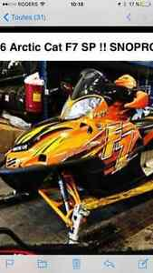 2006 ARCTIC CAT F7 SP SNOWPRO