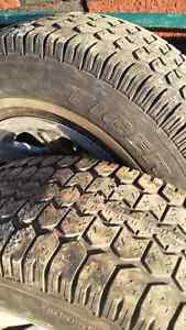 snow tires and rims Kitchener / Waterloo Kitchener Area image 3