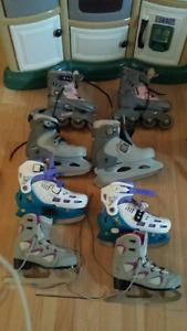 patins à glace à vendre