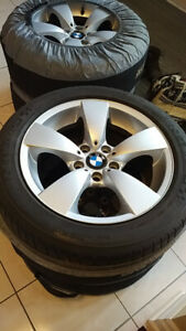 BMW E60 2004-2009 5 series Rims + Michelin! Tires 17""