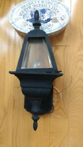 Outdoor light in new condition