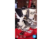 Fox size 6/7 motocross boots 2015