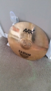 "Sabian AAX 18"" X-plosion crash with crack"