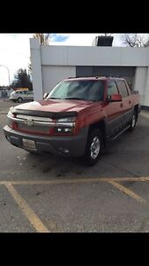 Chevrolet Avalanche 4x4 loaded
