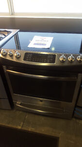 """DOUBLE OVEN FREE STANDING SMOOTH TOP GE 30"""""""