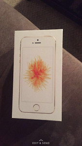 IPHONE SE GOLD BRAND NEW