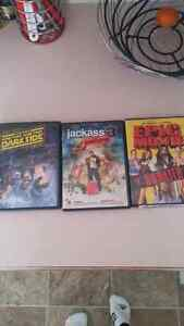 Funny movies all 3.00 in great condition!
