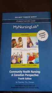 Community Health Nursing 4th ed eText & MyNurseLab. UNOPENED