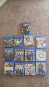 13 ps4 games for $200. $450 value. Good christmas gifts