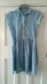 Girls summer school dress
