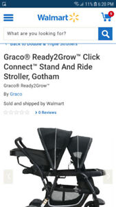 Graco click connect ready 2 grow stand and ride stroller