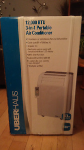Uberhaus 3 in 1 Portable Air Conditioner - Brand new!!