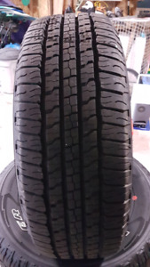 4 New Goodyear Wrangler Fortitude HT tires, 265/70R17