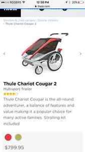 Cougar chariot 2 red