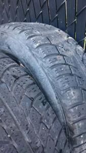 2pc pneu l'hiver