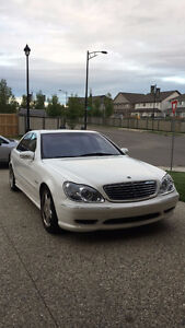 2001 Mercedes-Benz S-Class s55 AMG package