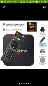 NEW MX Q PRO ANDROID BOX FULLY LOADED AVAILABLE !!!!