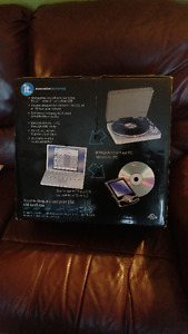 usb Digital turntable, usb connection. Play or transfer your rec